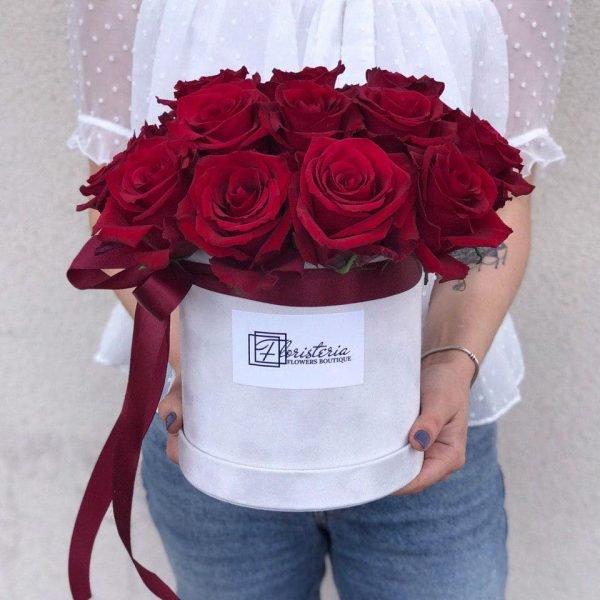 Flower box з трояндами